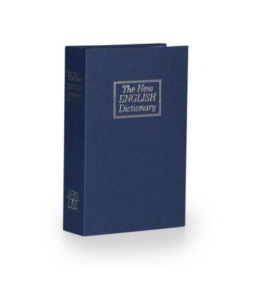Boek kluis - Blauw - Medium