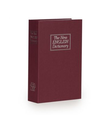 Boek kluis - Bordeaux - Medium