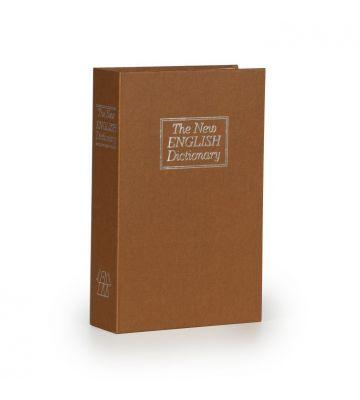 Boek kluis - Bruin - Medium