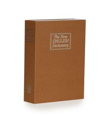 Boek kluis - Bruin - Large